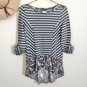 Anthropologie Postmark Tunic Blouse Knit Fall Top
